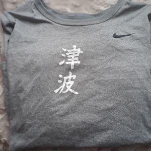 Nike ls shirt size s
